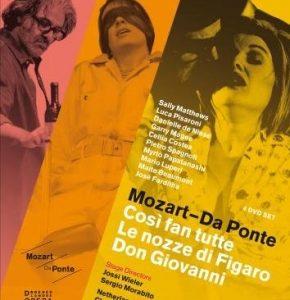 Mozart-Da Ponte 4-DVD Set